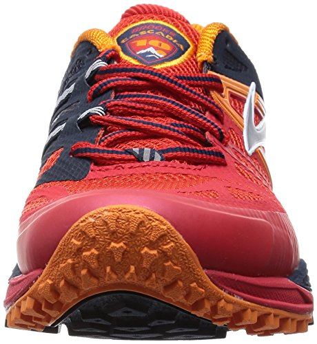 Highriskred Cascadia Chaussures 10 Satsuma Course Rouge Homme de Brooks Blackiris Rot PqHEgq