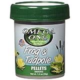 OMEGA One Frog & Tadpole Pellet 1.2oz