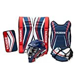 "Vaughn BOX24-RG Goalie Box Set 24"" Rg, Navy/Red"