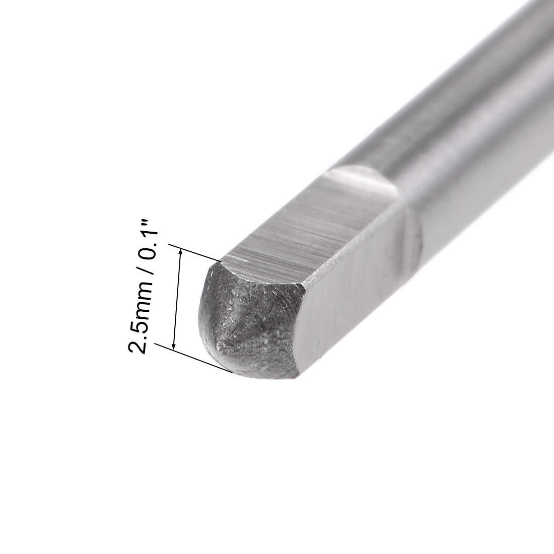 uxcell Machine Tap 11//64-40 UN Thread Pitch 2B 3 Flutes High Speed Steel
