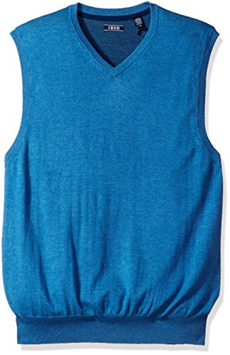 V-Neck Cotton Sweater Vest - 5