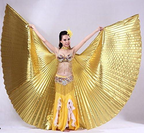 Ropa de baile y accesorios Isis Wings con alas y velo, danza del ...