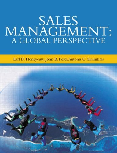Download Sales Management: A Global Perspective Pdf