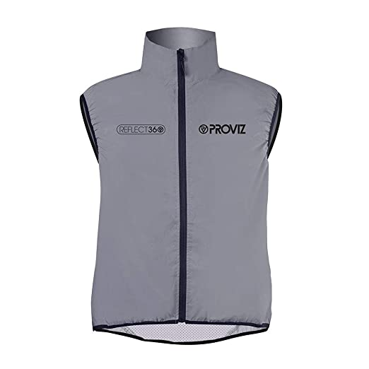 Camping & Hiking Hiking Vests Rockbros Cycling Bike Bicycle Reflective Outdoor Vest Running Safety Jersey Sleeveless Breathable Vest Night Walking Vest Coat