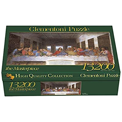 Clementoni Puzzle 38005 Leonardo Cenacolo 13200 Pezzi High Quality Collection