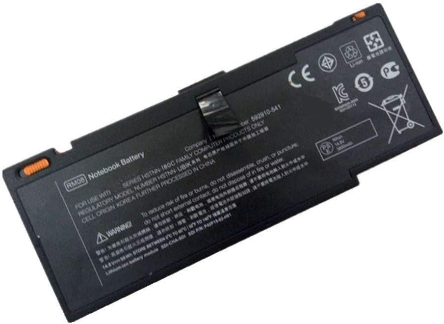 7XINbox 14.6V 3760mAh RM08 Replacement Laptop Battery for Hp Envy 14 HSTNN-I80C HSTNN-OB1K HSTNN-XB1S HSTNN-XB1K 592910-351 592910-541