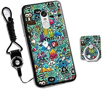 Prevoa ®Colorful Silicona Funda Case Protictive para Xiaomi Redmi Note 4 Pro Prime 5,5 Pulgadas Sartphone: Amazon.es: Electrónica