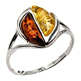 Best Amber by Graciana Friend Gifts On Sales - Sterling Silver Multicolor Amber Citrus Colors Ring Review