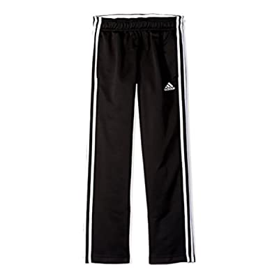 Adidas Athletic Track Pant for Boys (Small / 8, Black/White)