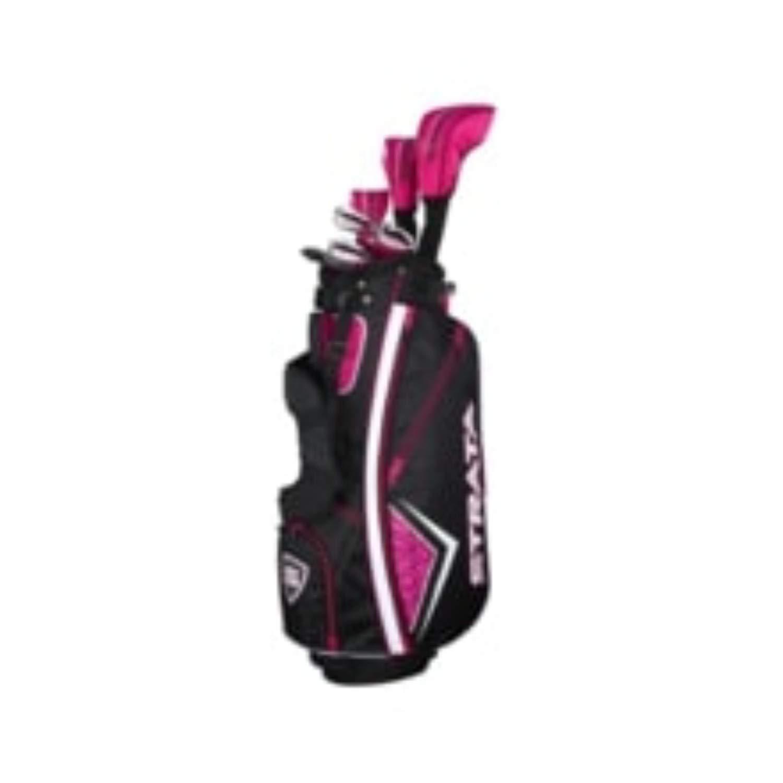 Strata Women's Golf Package Set 11pc Right Hand [並行輸入品] B07KDRLLGG