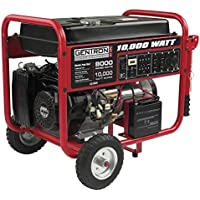 Gentron GG10020 10000 Watt Gas Portable Generator with Electric Start
