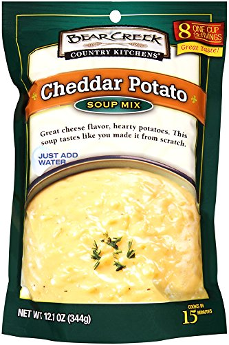 Bear Creek Soup Mix, Cheddar Potato, 12.1 Ounce (Cheddar Recipe Cheese Soup)