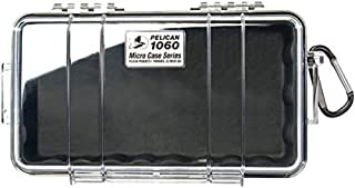 product image for Pelican 1060 Micro Case - for iPhone, GoPro, Camera, and More (Black/Clear)