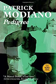 Pedigree par Patrick Modiano