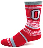 NCAA Ohio State Buckeyes Men's Socks (504 RMC Stripe)