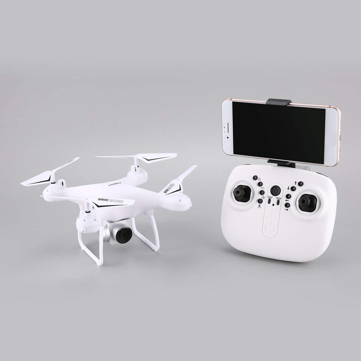 Gugutogo RC Drone KOOTAI X180 2,4G Drohne mit Kamera FPV RC Quadcopter Drohne UAV mit 720P HD Kamera Höhe Halten Headless Modus 3D-Flip 18 Minuten Langen Flug