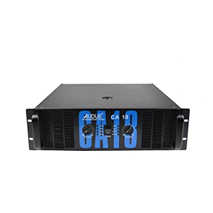 AUDUE Profesional 2 Canales Potencia de Audio CA Stage Series / KTV amplificador CA18