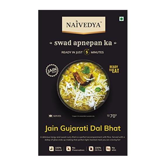 NAIVEDYA (Ready to EAT) Jain GUJRATI DAAL BHAAT