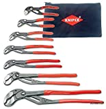 KNIPEX 8701000-X Ultimate Cobra Pliers 7pc. Set with Pouch
