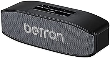 Betron E45 Bluetooth Wireless Speaker with Integrated Microphone for Iphone, Ipod, Ipad, Samsung, Smartphones, Computers, Laptops and Tablets