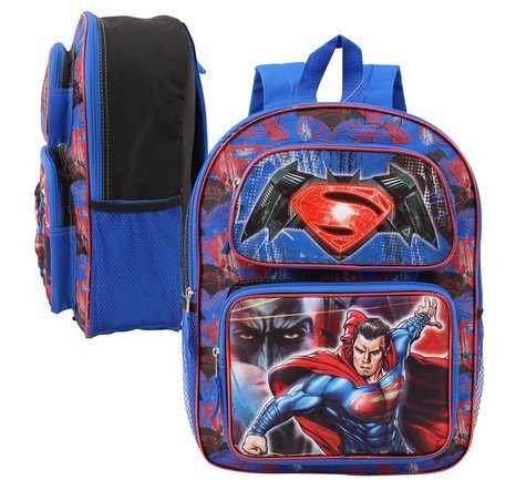 Superman Backpack (DC Comics Batman V Superman Dawn of Justice 3D Pop-UP 16