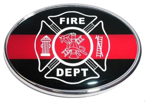 (Awesome Hitch Covers Fire Dept Oval Shape 2