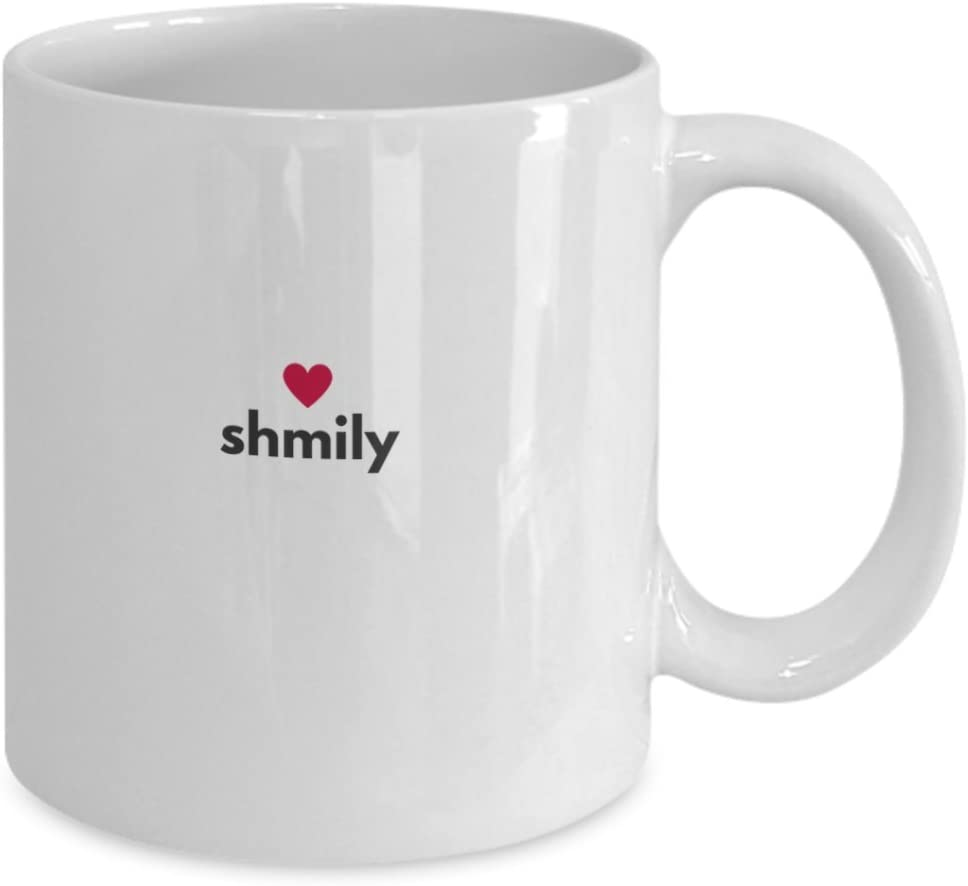 VALENTINE ROMANTIC COFFEE MUG - SHMILY - See How Much I Love You - Special gift for your loved one for Valentine's Day