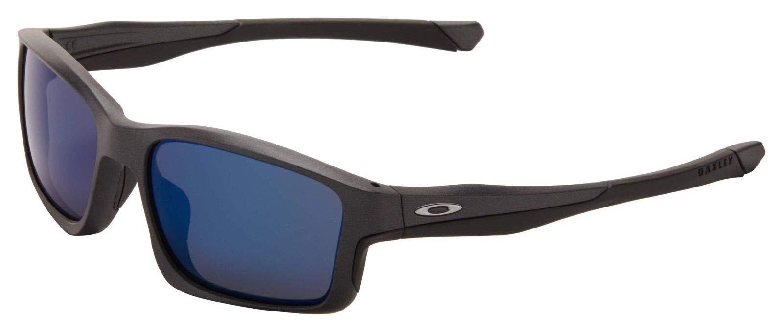 Oakley MPH Chainlink Sunglasses OO9247-20 Matte Steel   Ice Iridium Lens   by Oakley