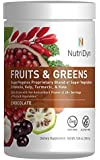 NutriDyn Fruits and Greens Super vegetox Proprietary Blend of Super vegetables, Chlorella, Kelp, Turmeric & Kale, Certified Organic 306.4 Grams