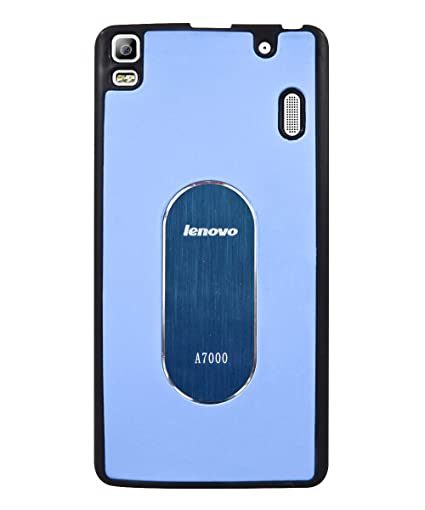 purchase cheap b9bf9 c64fb COVERNEW Back Cover for Lenovo A7000 Turbo-Sky Blue: Amazon.in ...