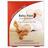 Baby Foot easy pack 1.2 fluid ounces per foot x 2. Baby Foot exfoliant foot peel pack is an easy three-step process: Apply, soak, then wash away. It takes only one week to remove the dead skin cells from the sole which means only one application to m...