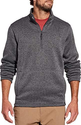 - Alpine Design Men's Sweater Fleece Half Zip Pullover (L, Smoked Pearl)
