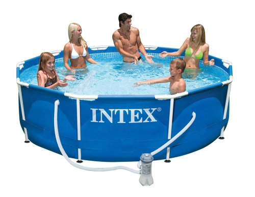 Intex 56999FR – Piscina Tubular (Metal)