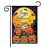 Halloween Garden Flags Decoration Pumpkin Hanging Flag Banners Outdoor Home Decor Thanksgiving Event Party Supplies (style1)