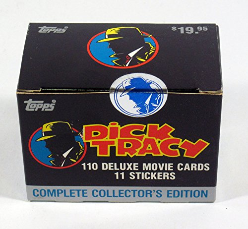 1990 Topps Dick Tracy Sealed Factory Card and Sticker Set (110 + 11) ()