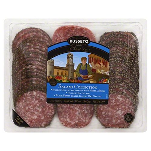 Busseto Classico Salami Collection, 12 Ounce (Pack of (Classico Collection)