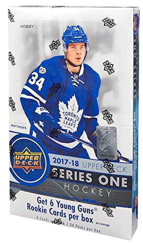 2017/18 Upper Deck Series 1 NHL Hockey HOBBY box (24 -