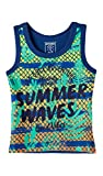 OFFCORSS Colored Tank Tops for Toddlers Boys Camiseta Sin Mangas Niño Blue 2T