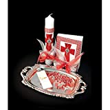 Catholic & Religious Gifts, Confirmation Gift Set Silver English