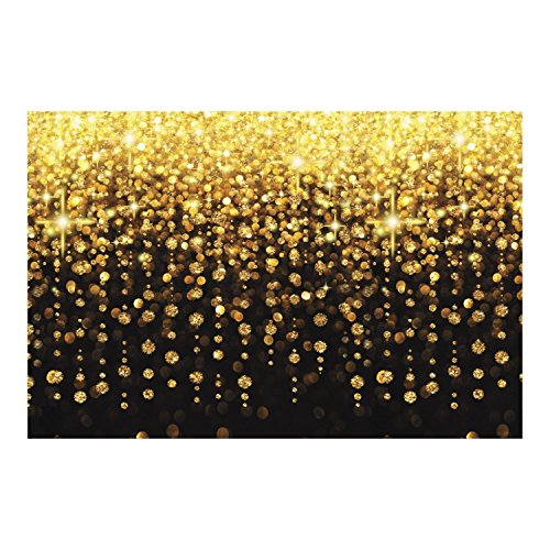 3' Drop Shot - DCWV All That Glitters! - Glam Party Themed Photo Booth Backdrop - 36
