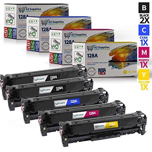 AZ Supplies Toner | 30% more Print Performance | 5-Pack repl