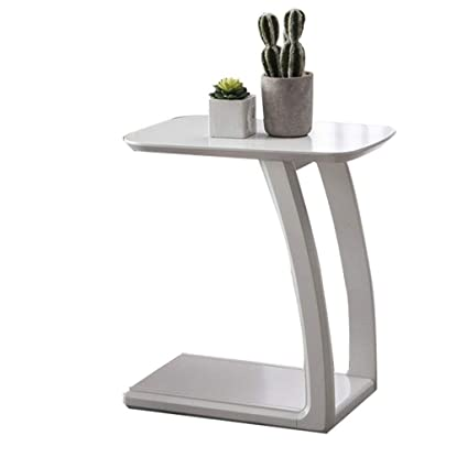 Awesome Amazon Com Yxsd Side Table With Curved Leg U Shaped End Onthecornerstone Fun Painted Chair Ideas Images Onthecornerstoneorg