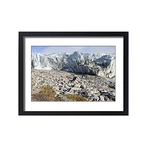 - Media Storehouse Framed 24x18 Print of Russell Glacier at Greenland Ice Sheet, Kangerlussuaq, Greenland (18241927)