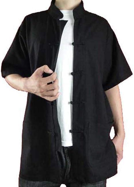Lino de Calidad Alta Camiseta de Kung Fu Artes Marciales Tai Chi XS-XL o Hecho a Medida #101: Amazon.es: Ropa y accesorios