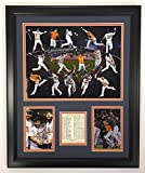 """Legends Never Die 2017 MLB Houston Astros World Series Champions Framed Photo Collage, Collage, 18 x 22"""""""