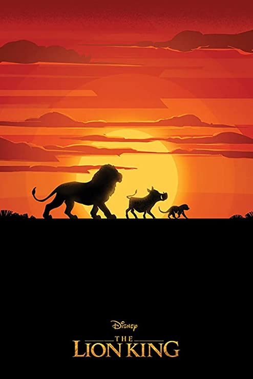 """New The Lion King Poster 2019 Movie Art Print 24/"""" x 36/""""2 for $23"""
