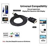 DisplayPort to VGA Adapter, Benfei DP DisplayPort