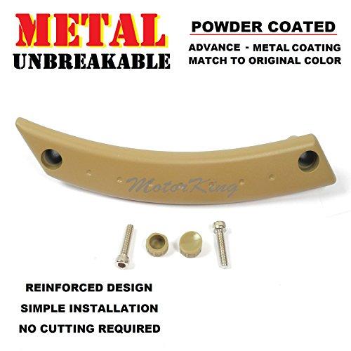 MotorKing UE1002-FL-PCT Metal Reinforced Door Panel Handle Left Repair Kit Beige for VW Beetle