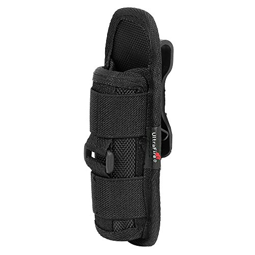 UltraFire Flashlight Pouch Holster Belt Carry Case Holder wi