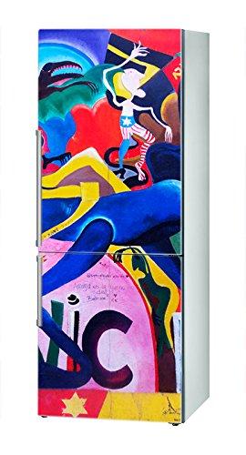 Decusto - Berlin Wall Sonic - Adhesivo para Decorar Tu Nevera ...